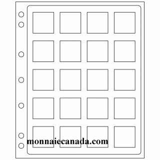 Feuilles Encap pour Capsules Quadrum (Pqt/2) 14-41 mm