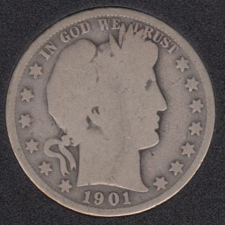 1901 S - 50 Cents