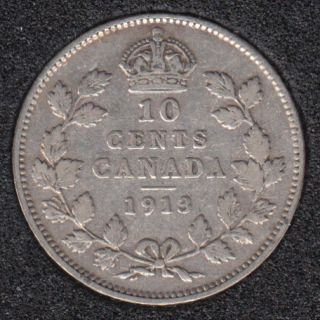 1913 - Canada 10 Cents