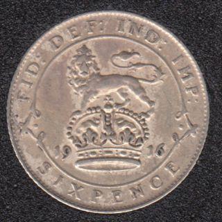 1916 - 6 Pence - Grande Bretagne