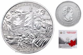 2017 - $3 - Pure Silver Coin - Spirit of Canada
