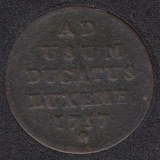 1757 - 1 Liard - Maria Theresa - Luxembourg
