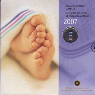2007 *BABY GIFT SET* WITH 25 CENT COLORED SPECIAL EDITION