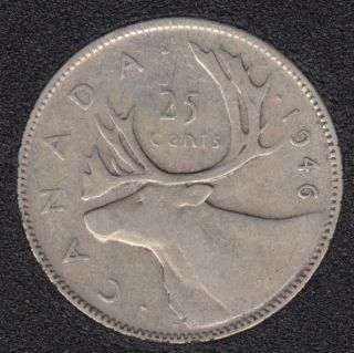 1946 - Canada 25 Cents