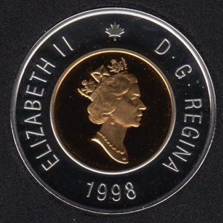 1998 - Proof - Silver - Canada 2 Dollar