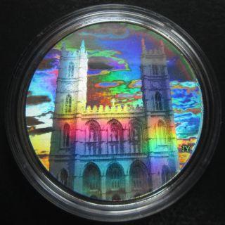 2006 - $20 fine silver coin Notre-Dame Basilica