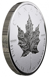 2018 - $50 - Follow us on YouTube Ce lien s'ouvrira dans une nouvelle fenêtre.   Print this page Ce lien s'ouvrira dans une nouvelle fenêtre.   3 oz. Pure Silver Coin - 30th Anniversary of the Silver