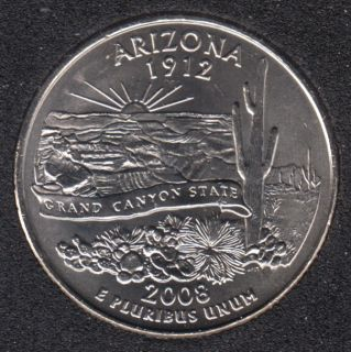 2008 P - Arizona - 25 Cents