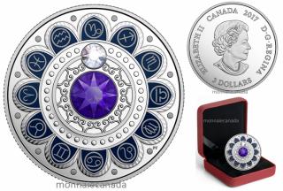 2017 - $3 - Pure Silver coin – Zodiac - Capricorn