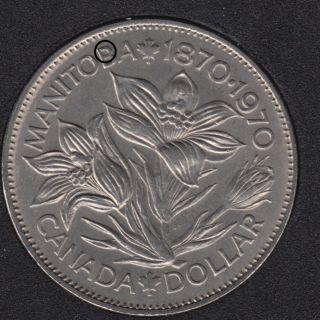 1970 - B.Unc - Dot in '8' - Nickel - Canada Dollar