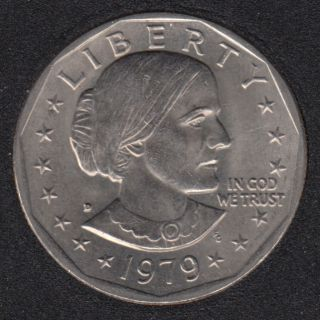 1979 D - Susan B. Anthony - Dollar