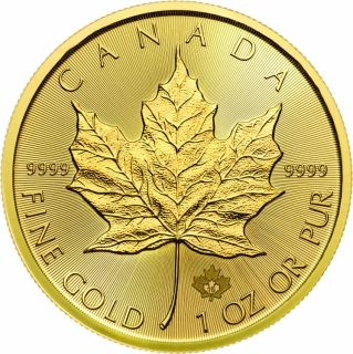 1 oz 2016 Canadian Maple Leaf Gold Coin - AVAILABLE IN STORE ONLY - No Tax