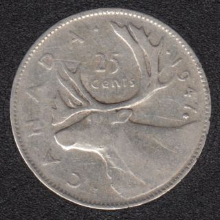 1947 - ML - Canada 25 Cents