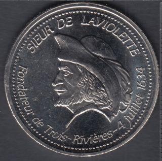 Trois-Rivieres - 1984 - 1634 - 350° Ann. - Sieur de Laviolette Fondateur - $1 Trade Dollar