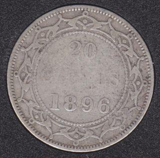 Terre Neuve - 1896 - S '96' - 20 Cents