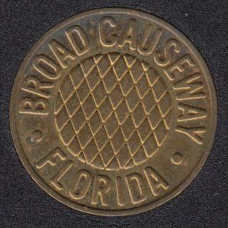 Florida  - Broad Causeway
