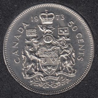 1973 - B.Unc - Canada 50 Cents