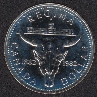 1982 - NBU - Silver -  Canada Dollar