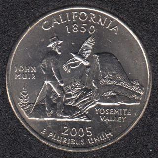2005 P - California - 25 Cents