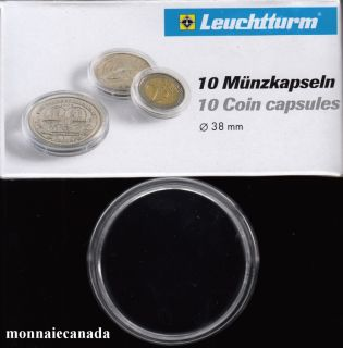 COIN CAPSULES 38MM