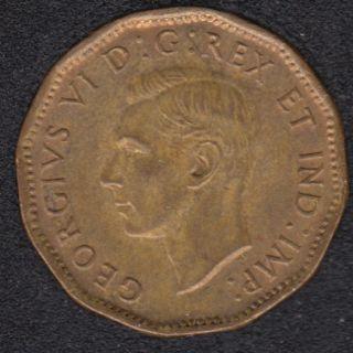 1943 - Tombac - Unc - Canada 5 Cents