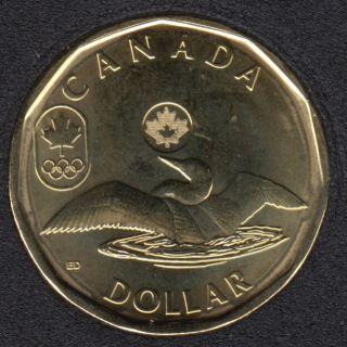 2014 - B.Unc - Lucky Loon - Canada Dollar