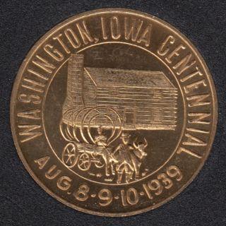 1939 - Washington Iowa - Cetennial