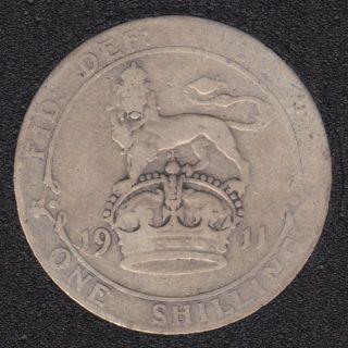 1911 - Shilling - Great Britain