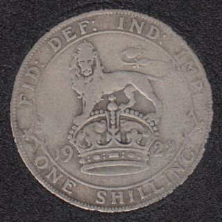1922 - Shilling - Great Britain