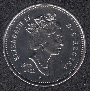 2002 - 1952 P - NBU - Canada 50 Cents