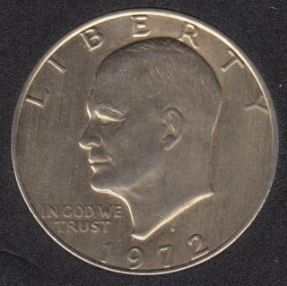 1972 D - Eisenhower - Gold Plated - Dollar