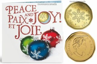 2015 Holiday Gift Set with struck loon dollar (Snowflake)