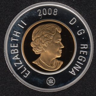 2008 - Proof - Argent - Canada 2 Dollar