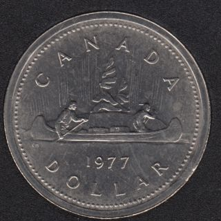 1977 - #2 B.Unc - Det Jew. FWL - Nickel - Canada Dollar