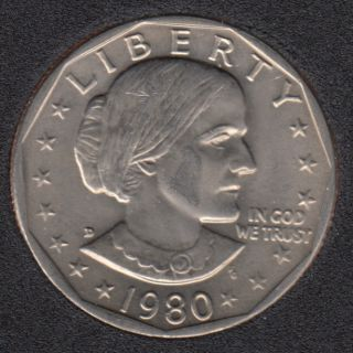 1980 D - Susan B. Anthony - Dollar