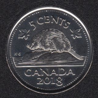 2018 - B.Unc - Canada 5 Cents
