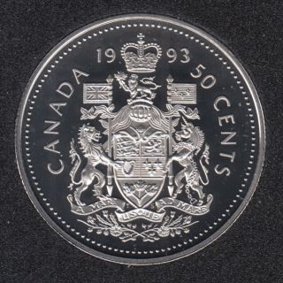 1993 - Proof - Canada 50 Cents