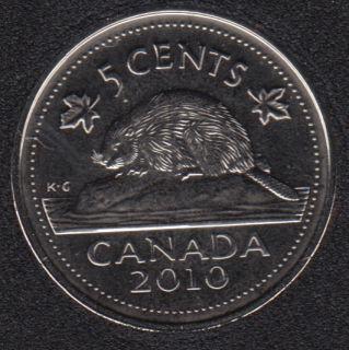 2010 - NBU - Canada 5 Cents