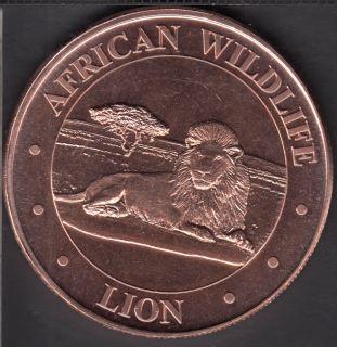 Lion - 1 oz .999 fine Copper