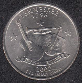 2002 D - Tennesse - 25 Cents