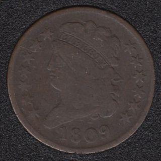 1809 - Classic Head Half Cent