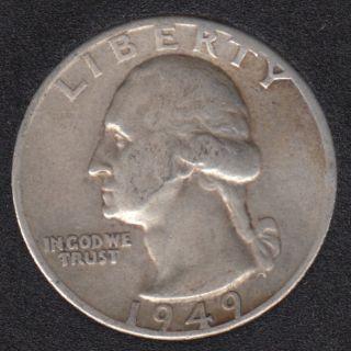 1949 D - Washington - 25 Cents