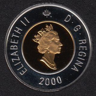 2000 - Proof - Argent - Canada 2 Dollar