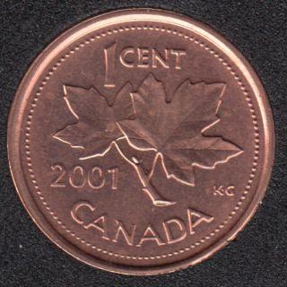 2001 - B.Unc - Canada Cent