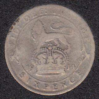 1914 - 6 Pence - Grande Bretagne