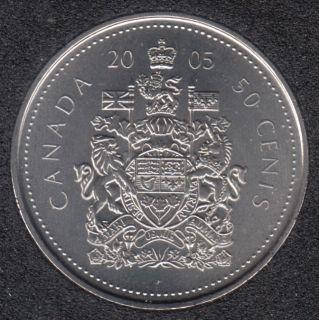 2005 P - B.Unc - Canada 50 Cents