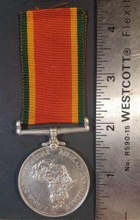 #1-258 Africa Service Medal 1939-1945