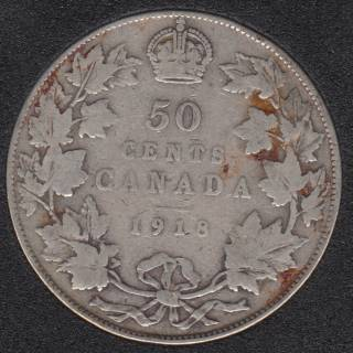 1918 - Canada 50 Cents
