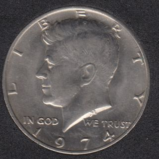 1974 - Kennedy - 50 Cents