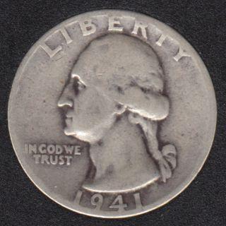 1941 - Washington - 25 Cents